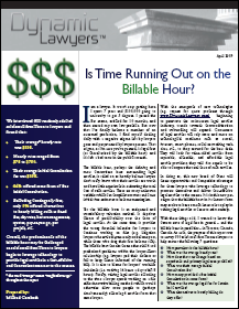 End of the Billable Hour?